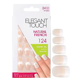 Elegant Touch Natural French False Nails
