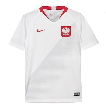 2018-2019 Polonia Home maglia da calcio Nike (bambini)