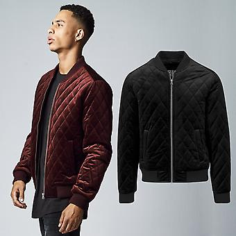 Urban classics - velluto QUILT BOMBER Quilted Jacket