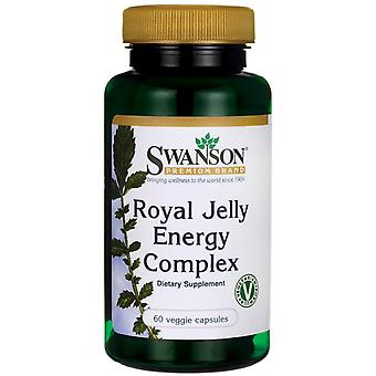 Swanson Royal Jelly Energy Complex 60 vcaps