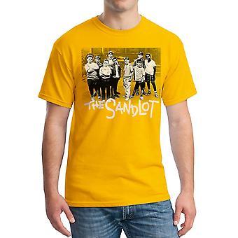Sand Team mænds guld T-shirt