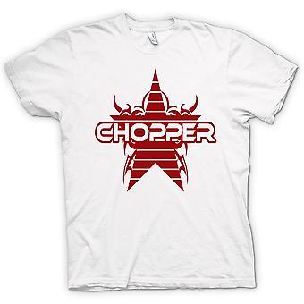 Womens T-shirt - Chopper Retro Bike - Funny