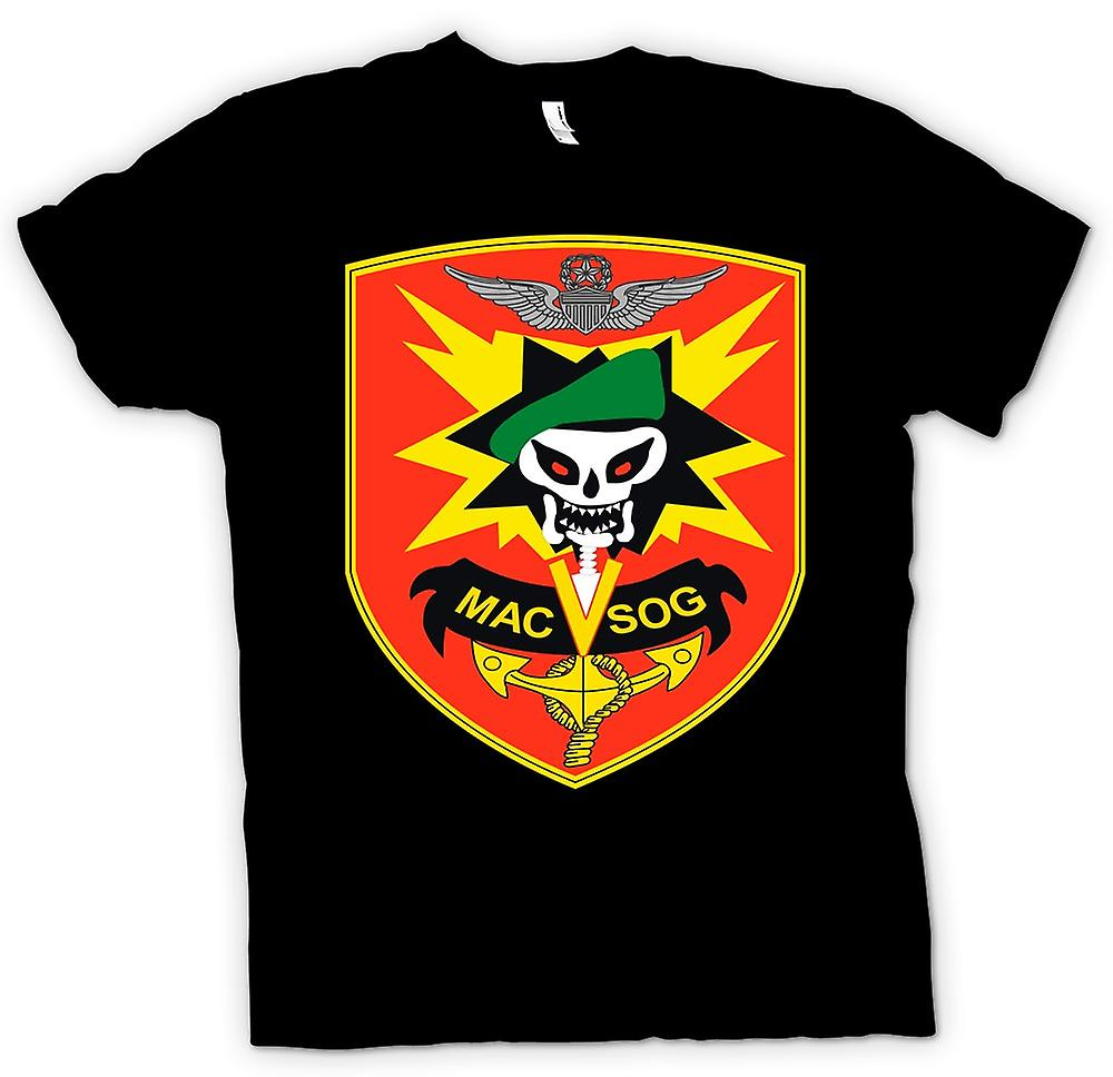 Mens T-shirt - MACV-SOG Special Forces Badge