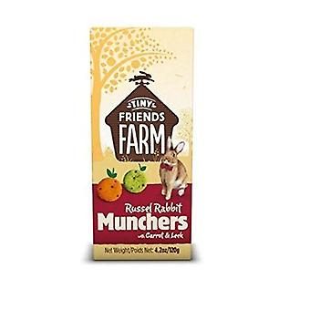 Supreme Russel Rabbit Carrot and Leek Treats Munchers 120g (PACK OF 2)