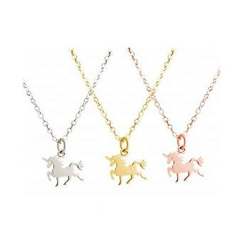 Necklace - necklace - pendant - Unicorn - 45 cm – 925 silver plated