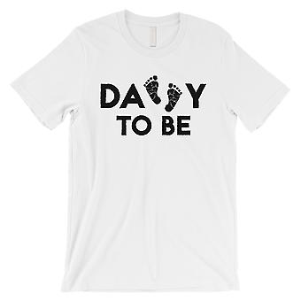 Daddy To Be Mens White Shirt
