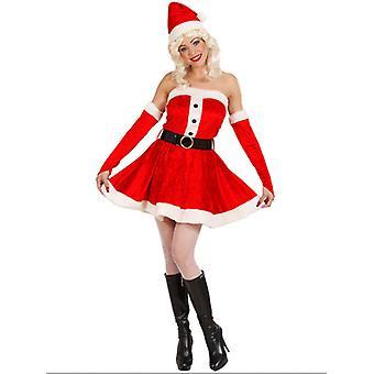 Plush Miss Santa