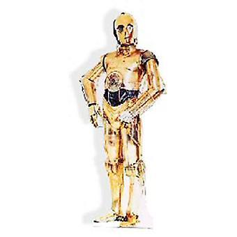 Star Wars C-3PO Figura de cartón