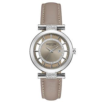Poignet montre analogique quartz cuir Kenneth Cole New York féminines 10021104