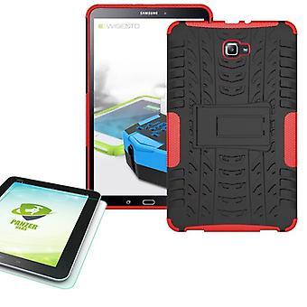 Il caso esterno ibrido per Samsung Galaxy tab A 10.1 T580 + 0,4 vetro blindato