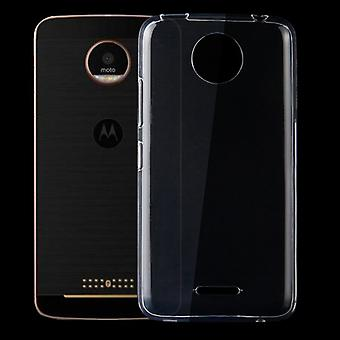Silikoncase transparent 0.3 mm ultra thin case for Motorola Moto C plus bag cover new
