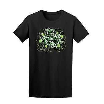 St Patrick's Day Quote Shamrock Tee - Image by Shutterstock