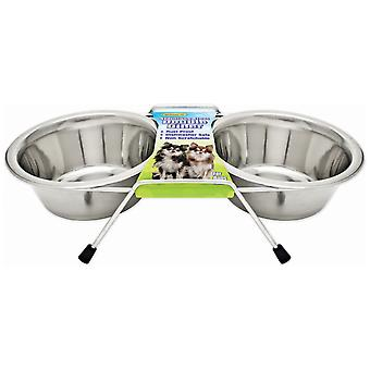 Stainless Steel Double Diner 1pt-