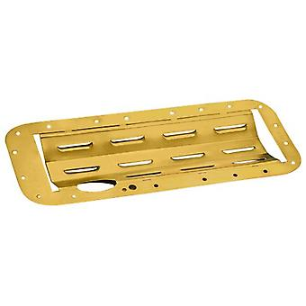 Milodon 32000 Gold Zinc Plated Standard Stroke Windage Tray for Big Block Chrysler Wedge and Hemi