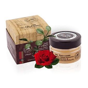 24 H la crema facial para piel normal grasa 40ml.