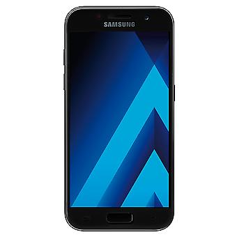 Samsung Galaxy A5 2016 3D armoured glass foil display 9 H protective film covers case black