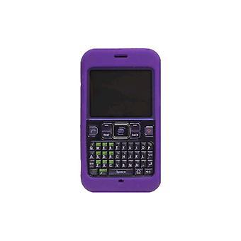 Pack 5 - Etui en Gel Silicone Solution sans fil pour Sanyo Juno SCP-2700 - violet
