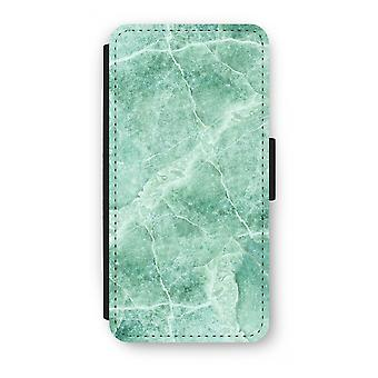 Samsung Galaxy S9 Plus Flip Case - Green marble