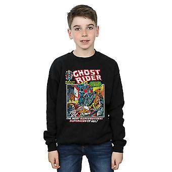 Marvel Boys Ghost Rider Sweatshirt