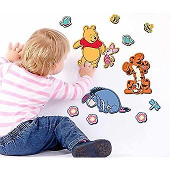 Planche d'autocollants mural Disney Winnie l'ourson