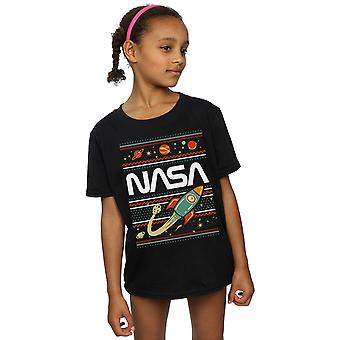 NASA ragazze Fair Isle t-shirt