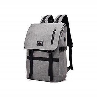 Flexible bag with USB-Gray