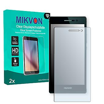 Huawei Ascend P7 Screen Protector - Mikvon Clear (Retail Package con accessori)
