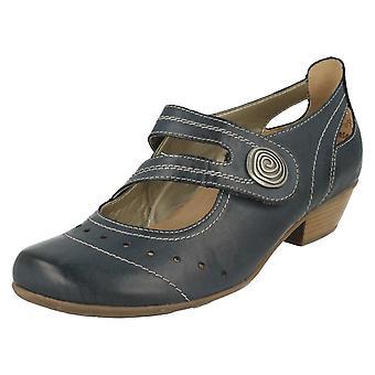 Ladies Remonte Smart Court Shoes D7319