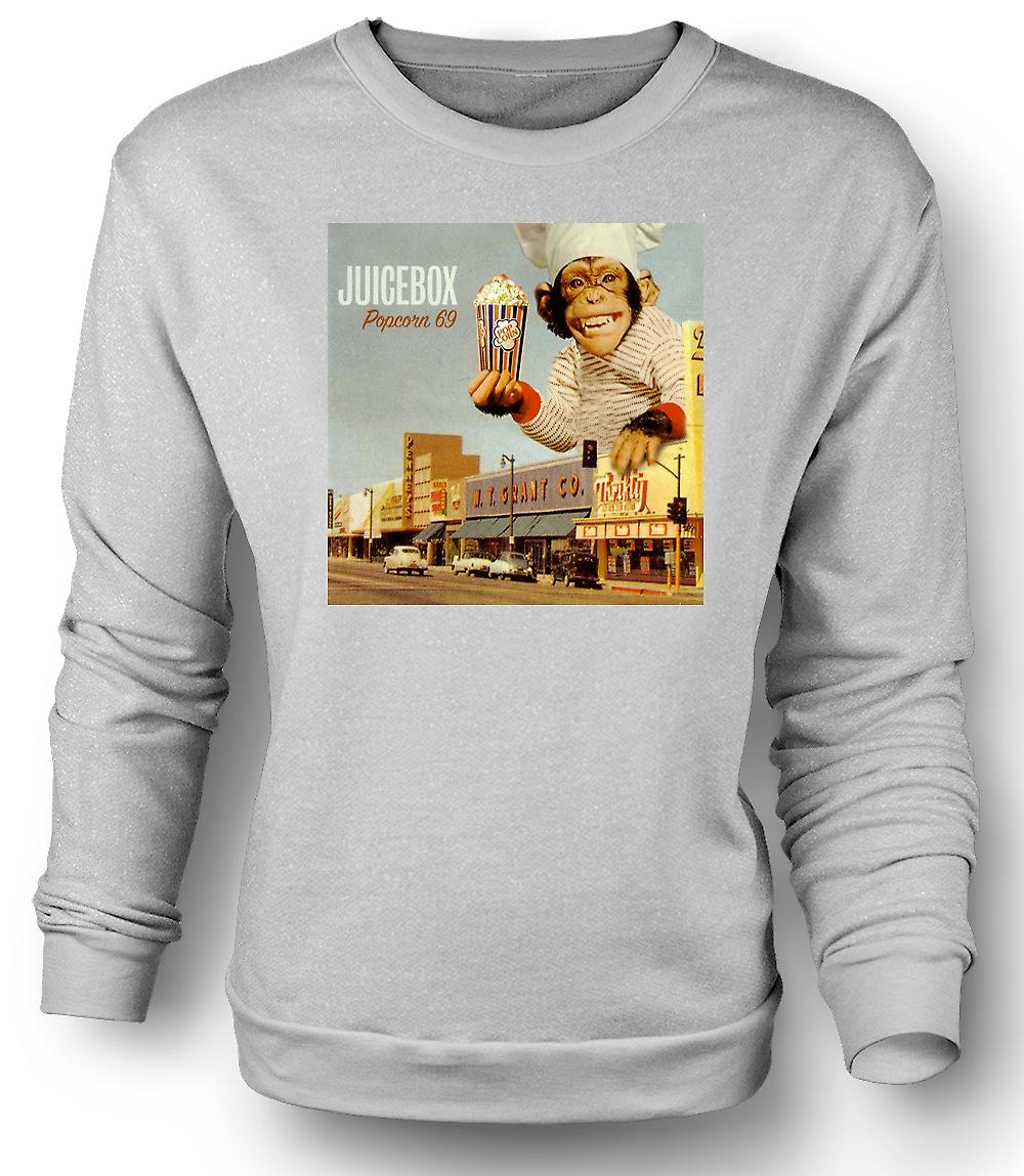 Mens Sweatshirt Juicebox Popcorn 69 - Soul Band