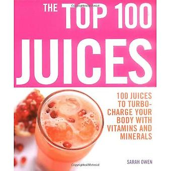 The Top 100 Juices: 100 Juices to Turbo-charge Your Body with Vitamins and Minerals (Top 100)