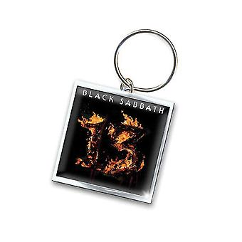 Black Sabbath Keyring Keychain 13 new Official