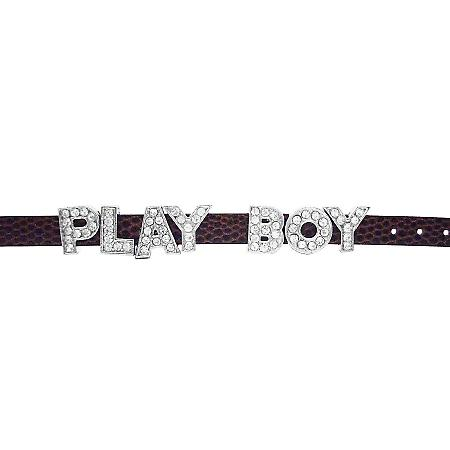 Fun Braclet w/ Letter Play Boy On Watch Strap Stunning Bracelet
