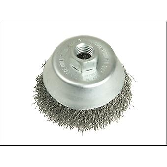 CUP BRUSH 75 X M10 X 1.50 X 0.35 WIRE