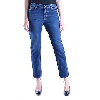 Golden Goose Blue Cotton Jeans