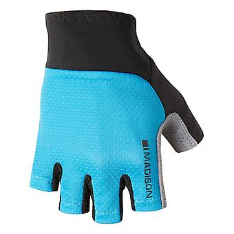 Madison Blue Curaco 2018 Roadrace Fingerless Cycling Gloves