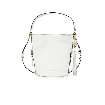 Michael Kors Brooke Soft Leather Bucket Messenger Bag