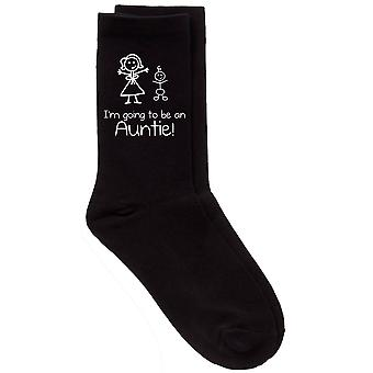 I'm Going to be An Auntie Black Socks