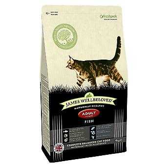 James Wellbeloved Adult Cat Fisch Trockenfutter - 1,5 kg