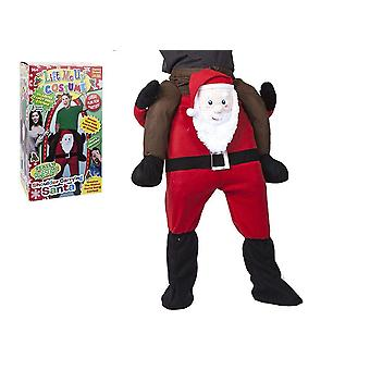 Lift Me Up Shoulder Carrying Santa Costume
