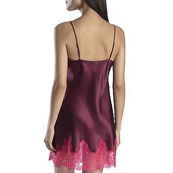 Aubade MS40 Women's Soie d'Amour Lace Silk Nightdress