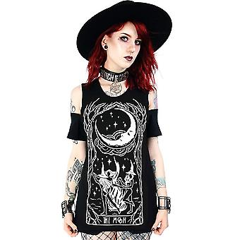 Restyle - witches chant - cold shoulder top
