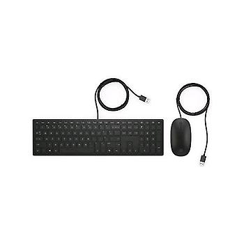 Hp 4ce97aa pavilion keyboard and mouse 400 dpi usb color black