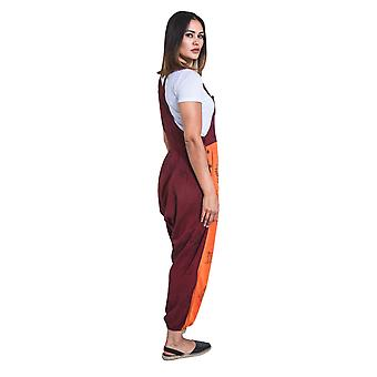 Opel baggy harem dungarees - orange