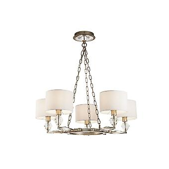 Maytoni Lighting Luxe Gold Antique Chandelier 5 X 40W
