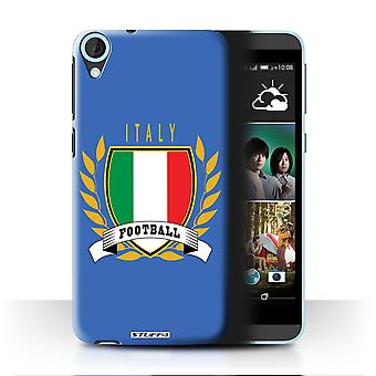 STUFF4 Case/Cover for HTC Desire 820q Dual/Italy/Italian/Football Emblem