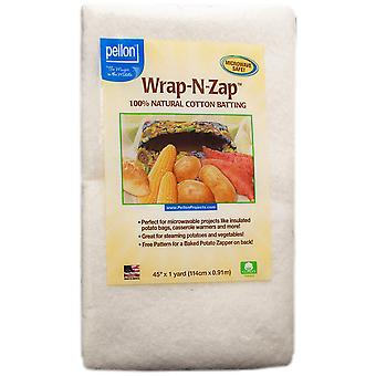 Wrap N Zap 100% Natural Cotton Batting 45