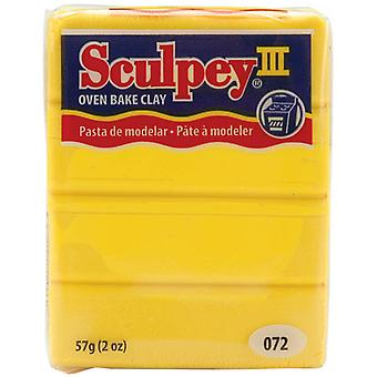 Sculpey Iii Polymer Clay 2 Ounces Yellow S302 072
