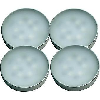 LED surface-mount light 4-piece set 7 W Neutral white Müller Lic