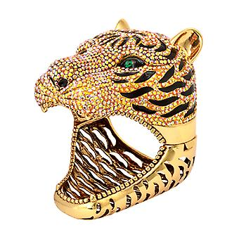 Butler  and  Wilson Large Crystal Tiger Cuff