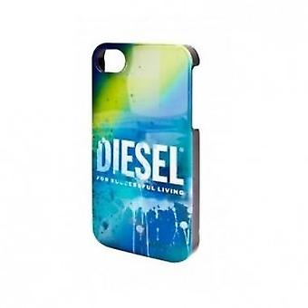 Diesel Snap Cover Cover Liquid for iPhone 4 / 4S in blue